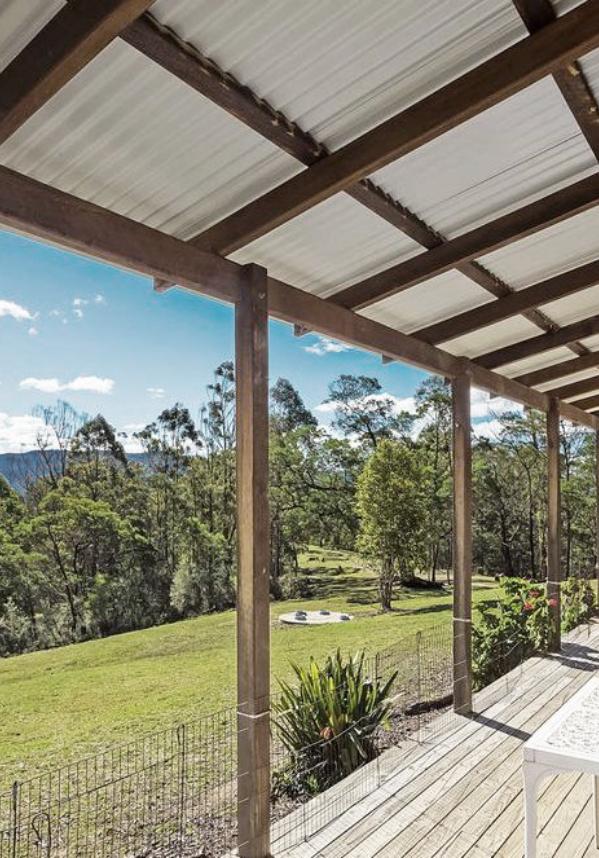 Bracken Cottage verandah